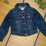 Куртка джинсовая пиджак джинсовый джинсовка для девочки 5-6лет