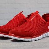 Кроссовки мужские летние Nike Free 3.0, красные