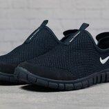 Кроссовки мужские летние Nike Free 3.0, темно синие