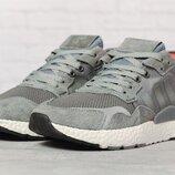 Кроссовки мужские Adidas Nite Jogger Boost, серые 17299