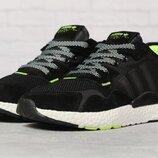 Кроссовки мужские Adidas Nite Jogger Boost, черные 17298