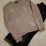 Нарядный свитер кофта marks & spencer