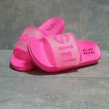 Шлепанцы женские Super Girl, розовые
