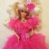 Коллекционная барби Mattel 1990 год happy holidays оригинал