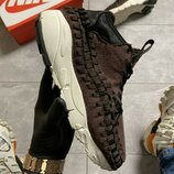 Nike Footscape Woven Suede Brown