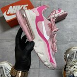 Кроссовки Nike Air Max 270 React Pink White.