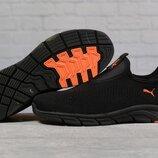 Кроссовки мужские 17514 Puma, черные