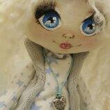 Продам авторскую куклу на коньках