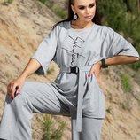 Стильный женский спортивный костюм с штанами. Размер S-XL. Новинка