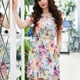 Асимметричное свободное платье, р. s - 5 xl