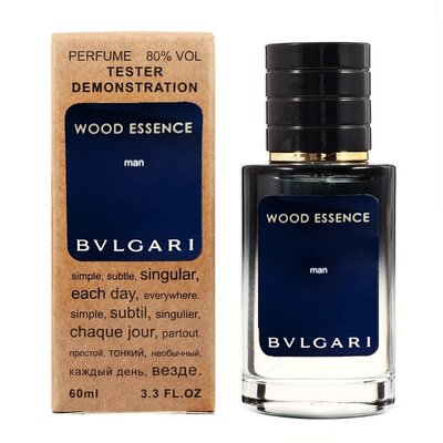 BVLGARI Wood Essence 60 мл Тестер мужской