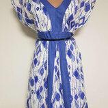 Платье миди коттоновое р 14 mantaray