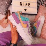 Кроссовки женские Nike Air Force 1 Multicolor