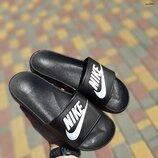 Шлепанцы Nike черные 36-41р