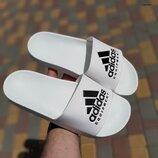 Шлепанцы мужские Adidas белые
