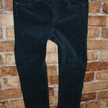 штаны велюровые стрейч джинсы девочке 9 - 10 лет H&M