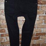 черные 12 лет джинсы стрейч девочке Next