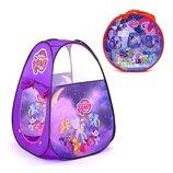 Палатка детская Пони 8099PN фиолетовая