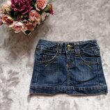 Юбка джинсовая Zara на 3-4 года