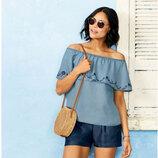 Воздушная летняя женская блуза Esmara Германия
