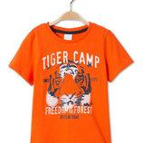 Хлопковая футболка тигр C&A Palomino Германия