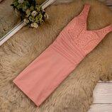 Очень красивое качественное платье бирочка срезана рр 12-14 наш 46-48