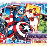 Пазлы Мстители , 70 элементов Gtoys, пазлы герои марвел, пазлы супергерои