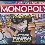 Hasbro Игра настольная Монополия Гонка E7033 Monopoly Speed Board Game