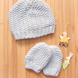 Набор шапка и рукавички George на 6-12М