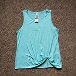 Майка блуза бирюзовая новая размер XL