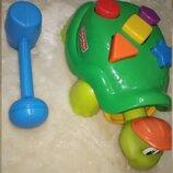 Сортер Черепаха с молоточком Fisher-Price В идеальном состоянии