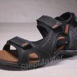 Сандалии мужские кожаные Ecco Yak Biom Black
