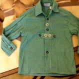 Красивая рубашка девочке от Isar-Trachten. Это немецкий бренд одежды. Качество высшее. На 3-4 года