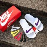 Унисекс тапки Nike Color Swoosh | 36-44.