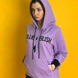Худи 7Sins - Billie Eilish, Purple