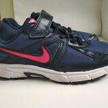 Кожаные кроссовки Nike оригинал р.34 стелька 22.5см