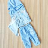 Комплект штаны и жилетка Mini Monster на 0-3М / 60 см