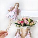 Ангел ангелочек цветочная садовая фея тильда сказочный персонаж топер торт сувенир