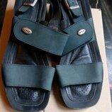 Босоножки кожаные, 36 размер, 23,5 см