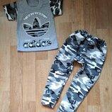 Набор для мальчика спортивные штаны и футболка 92-128 Отличные