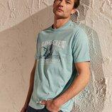 мужская футболка мятная lc waikiki / лс вайкики sailing crew