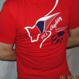 Катоновая стильная футболка Adler.Чехия .м-л .