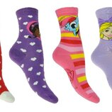 Разноцветные детские носки c Пони, Рапунцель, доктор Плюшева, Минни