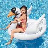 Надувной плотик Лебедь Intex 57557 Swan Ride-On