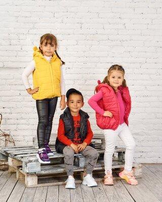 Детская жилетка на мальчика на девочку с ушками жилетка детская безрукавка