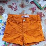 Фирменные шорты на девочку