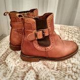 Ботинки кожаные челси Next 27 размер 9 , 17,5 см. стелька.