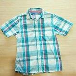 Хлопковая рубашка Rebel для мальчика 12-13 лет