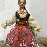 Кукла коллекционная в национальном польша