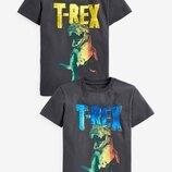 Двусторонняя футболка с пайетками T-Rex 3-16 лет